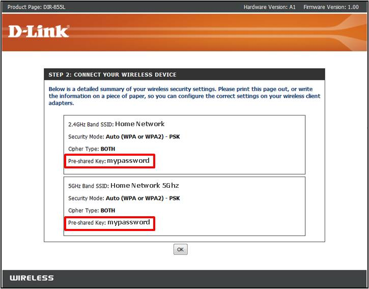How to change globe router username and password dlink
