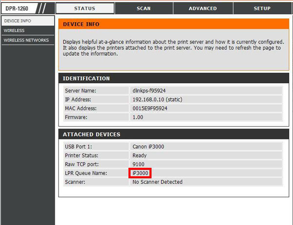 how to find my brother printer ip address